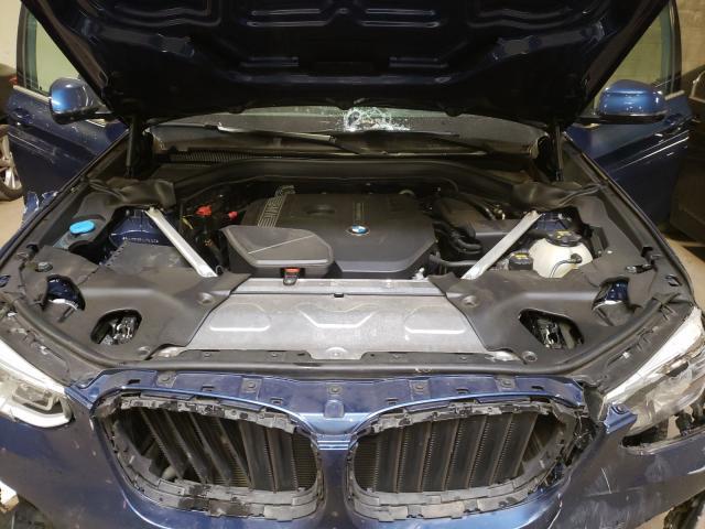 2018 BMW X3 XDRIVE3 5UXTR9C59JLC74345
