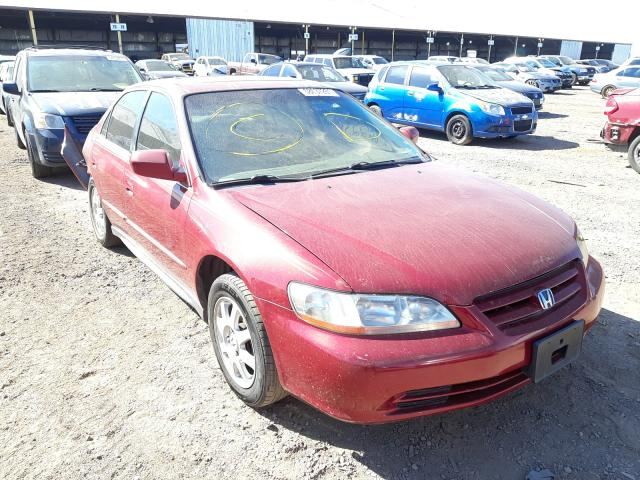 Salvage cars for sale from Copart Phoenix, AZ: 2002 Honda Accord EX