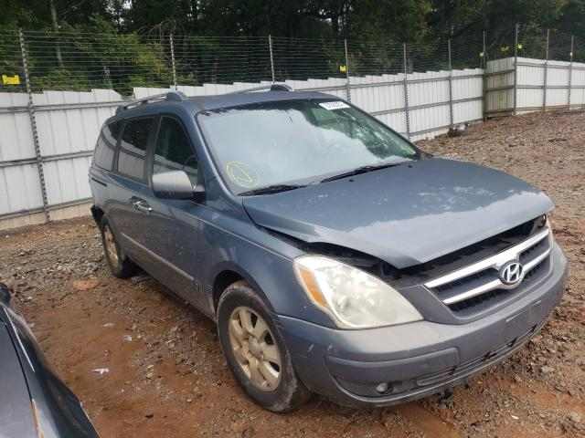 Salvage cars for sale from Copart Austell, GA: 2007 Hyundai Entourage