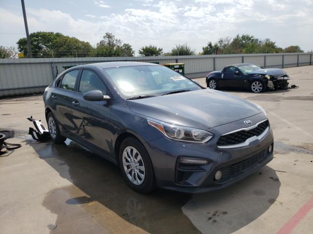 Vehiculos salvage en venta de Copart Wilmer, TX: 2021 KIA Forte FE