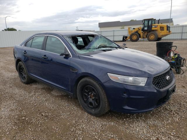 Vehiculos salvage en venta de Copart Bismarck, ND: 2013 Ford Taurus POL