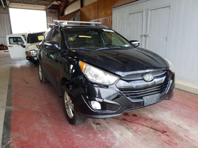 Salvage cars for sale from Copart Angola, NY: 2013 Hyundai Tucson GLS