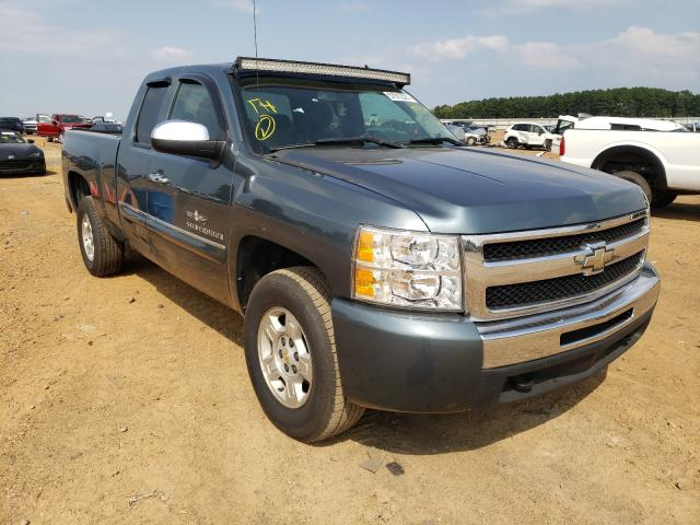 Salvage cars for sale from Copart Longview, TX: 2009 Chevrolet Silverado