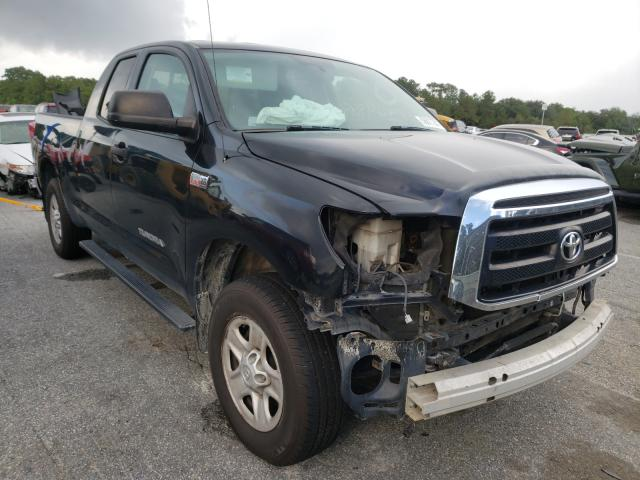 Salvage cars for sale from Copart Savannah, GA: 2012 Toyota Tundra DOU