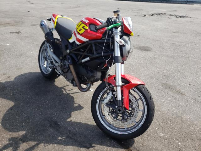 Salvage cars for sale from Copart Dunn, NC: 2009 Ducati Monster 11