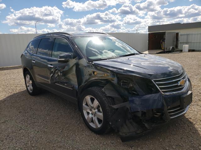 Vehiculos salvage en venta de Copart Bismarck, ND: 2017 Chevrolet Traverse P
