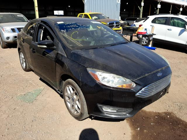 Salvage cars for sale from Copart Phoenix, AZ: 2015 Ford Focus SE