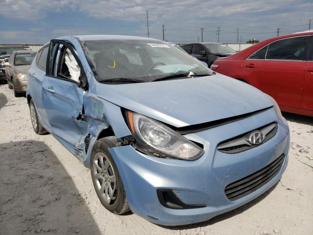 Salvage cars for sale from Copart Haslet, TX: 2013 Hyundai Accent GLS