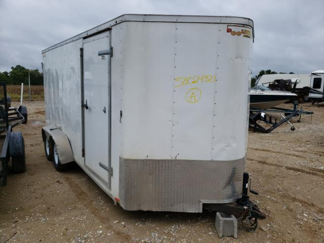 Salvage trucks for sale at Columbia, MO auction: 2018 Doolittle Cargo TRL