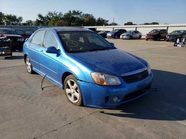 Vehiculos salvage en venta de Copart Wilmer, TX: 2007 KIA Spectra EX