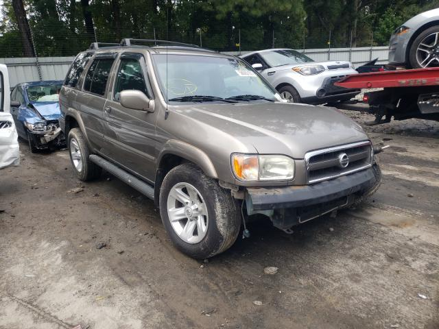 Salvage cars for sale from Copart Austell, GA: 2002 Nissan Pathfinder