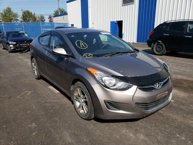 Salvage cars for sale from Copart Moncton, NB: 2012 Hyundai Elantra GL