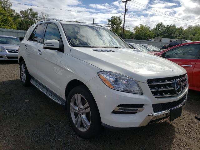 Mercedes-Benz salvage cars for sale: 2013 Mercedes-Benz ML 350 4matic