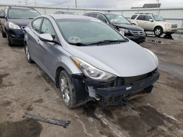 Hyundai Vehiculos salvage en venta: 2015 Hyundai Elantra SE