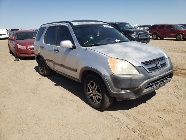 Salvage cars for sale from Copart Amarillo, TX: 2004 Honda CR-V EX
