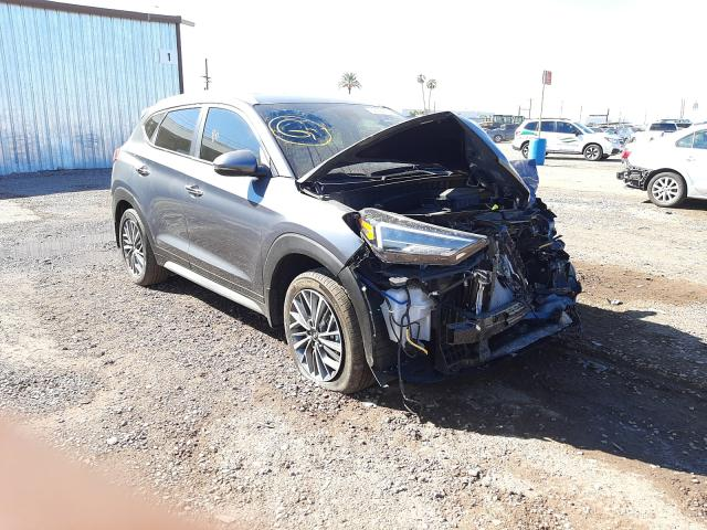 Salvage cars for sale from Copart Phoenix, AZ: 2019 Hyundai Tucson Limited