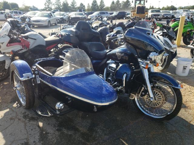 Salvage cars for sale from Copart Bridgeton, MO: 2018 Harley-Davidson Flhtk 115T