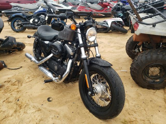 Salvage cars for sale from Copart Gaston, SC: 2015 Harley-Davidson XL1200 FOR