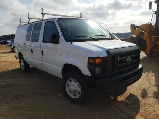 Salvage cars for sale from Copart Longview, TX: 2009 Ford Econoline