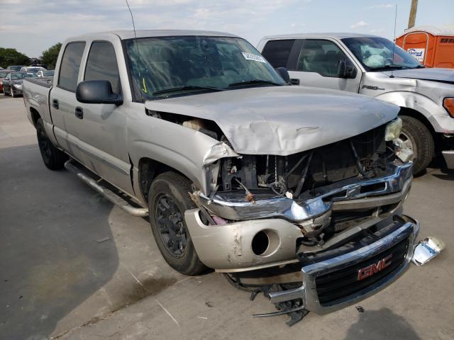 Salvage cars for sale from Copart Grand Prairie, TX: 2005 GMC New Sierra
