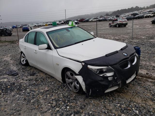 BMW salvage cars for sale: 2007 BMW 525 I