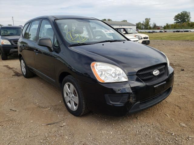 Salvage cars for sale at Columbia Station, OH auction: 2009 KIA Rondo Base