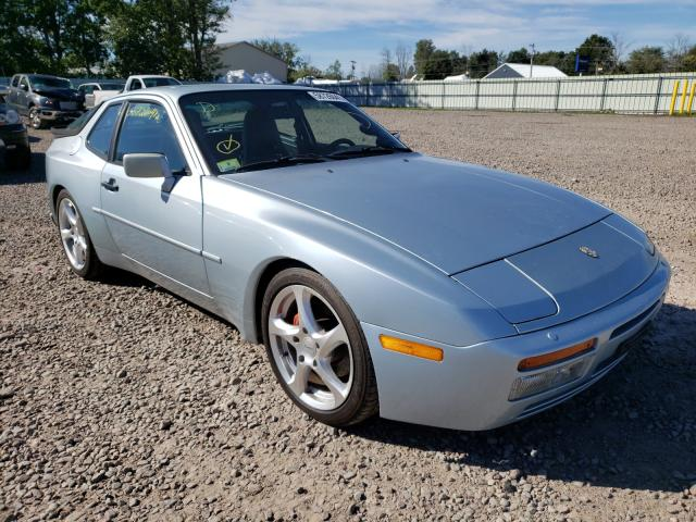 Salvage cars for sale from Copart Central Square, NY: 1989 Porsche 944