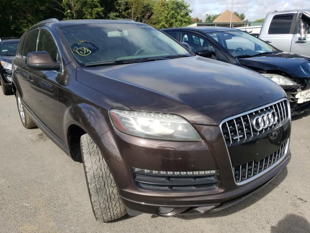 Salvage cars for sale from Copart Glassboro, NJ: 2010 Audi Q7 Premium