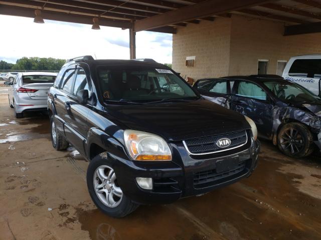 KIA salvage cars for sale: 2008 KIA Sportage E
