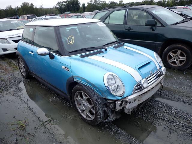 Mini salvage cars for sale: 2005 Mini Cooper S