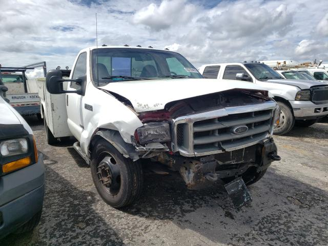 Salvage cars for sale from Copart Jacksonville, FL: 2000 Ford F550 Super