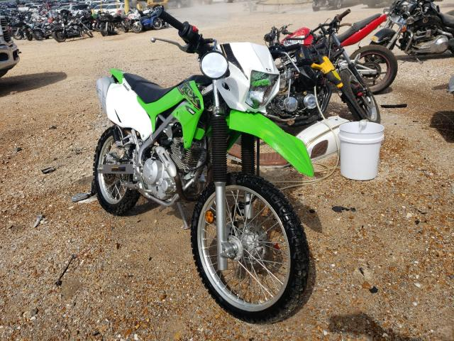 Salvage cars for sale from Copart Bridgeton, MO: 2021 Kawasaki KLX230 B