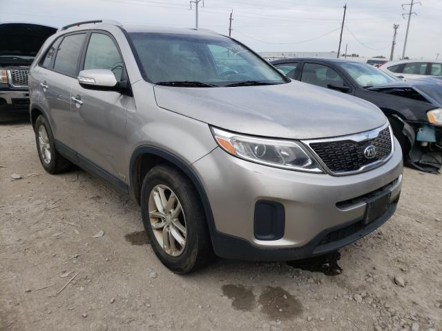 Salvage cars for sale from Copart Columbus, OH: 2015 KIA Sorento LX