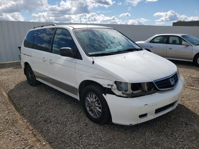 Vehiculos salvage en venta de Copart Bismarck, ND: 2002 Honda Odyssey EX