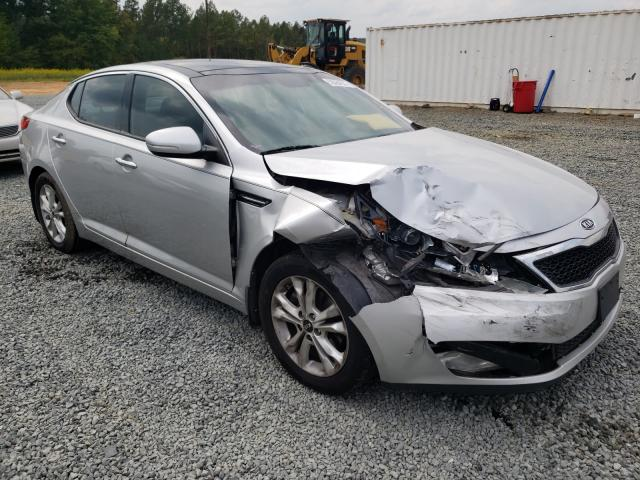 Salvage cars for sale from Copart Concord, NC: 2011 KIA Optima EX