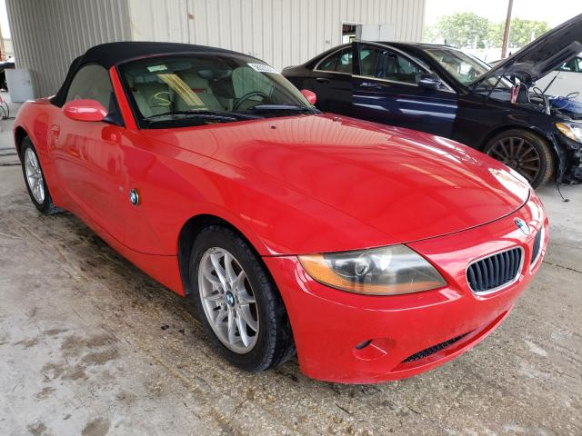 Salvage cars for sale from Copart Homestead, FL: 2003 BMW Z4 2.5