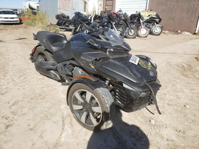 Salvage cars for sale from Copart Billings, MT: 2016 Can-Am Spyder ROA