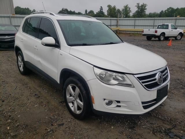 Salvage cars for sale from Copart Chatham, VA: 2010 Volkswagen Tiguan S