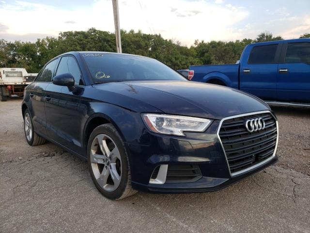 Audi A3 salvage cars for sale: 2018 Audi A3
