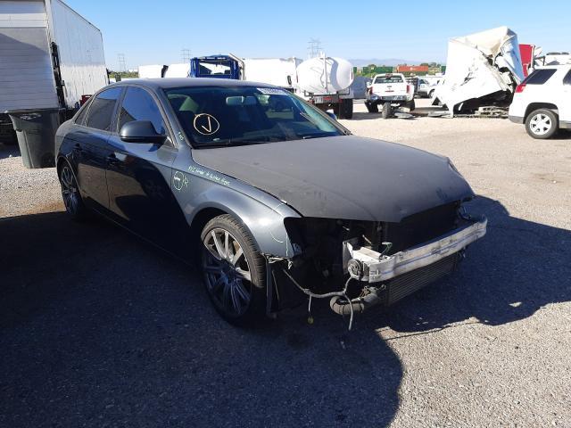 Salvage cars for sale at Tucson, AZ auction: 2009 Audi A4 Premium