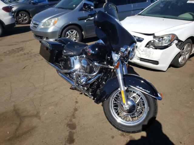Salvage motorcycles for sale at New Britain, CT auction: 2016 Harley-Davidson Flstc Heri