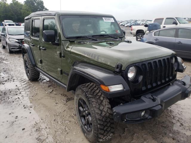 Jeep Wrangler salvage cars for sale: 2020 Jeep Wrangler