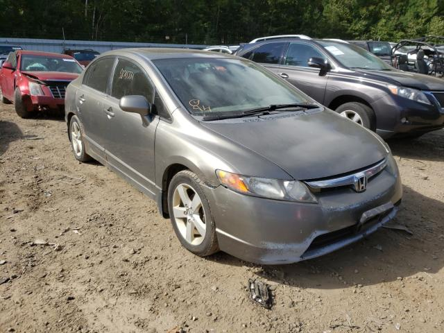 Salvage cars for sale from Copart Lyman, ME: 2008 Honda Civic EXL