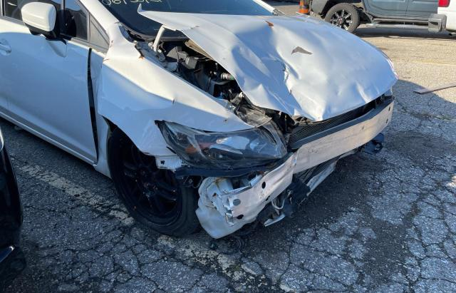 Salvage cars for sale from Copart Bowmanville, ON: 2015 Honda Civic SI