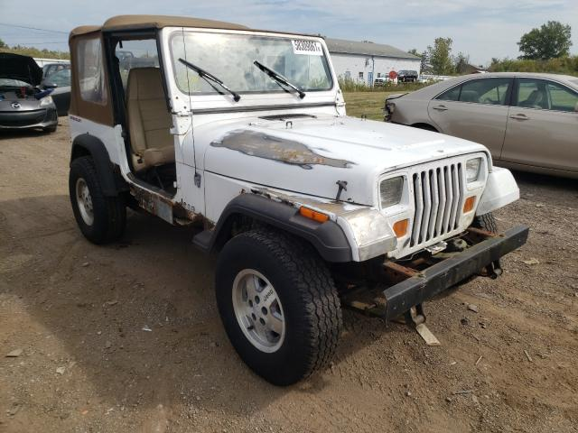 Salvage cars for sale at Columbia Station, OH auction: 1991 Jeep Wrangler