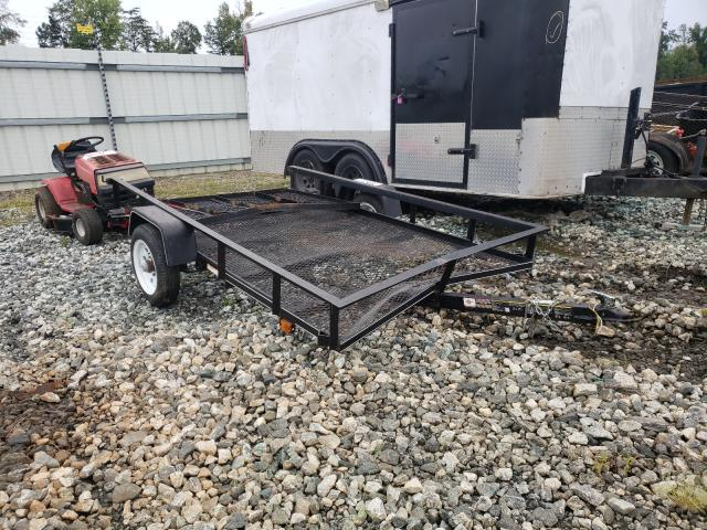 Salvage cars for sale from Copart Spartanburg, SC: 2018 Fabr Trailer
