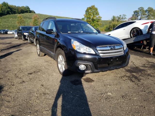Salvage cars for sale from Copart Marlboro, NY: 2013 Subaru Outback 2