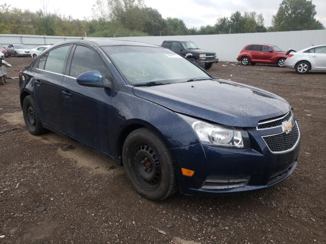 Salvage cars for sale at Columbia Station, OH auction: 2011 Chevrolet Cruze LT