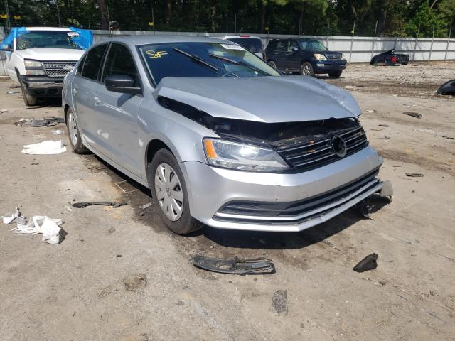 Salvage cars for sale from Copart Austell, GA: 2015 Volkswagen Jetta Base
