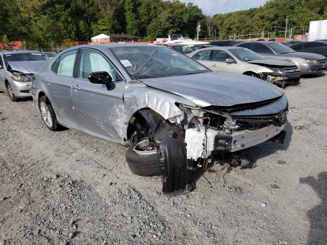 Salvage cars for sale at Finksburg, MD auction: 2021 Toyota Camry LE